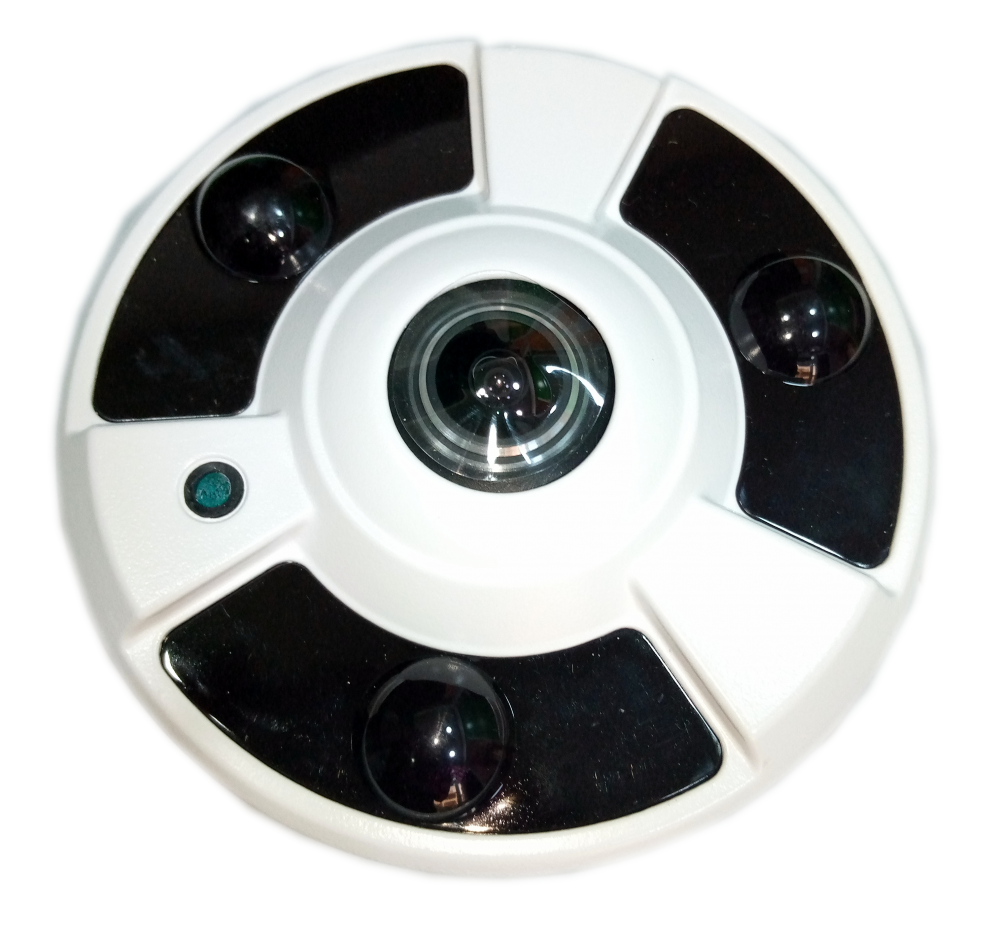360 Fisheye Camera 5MP IP Panoramic Camera
